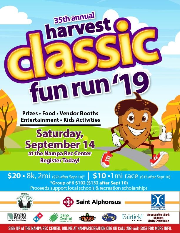 Harvest Classic Fun Run 2019