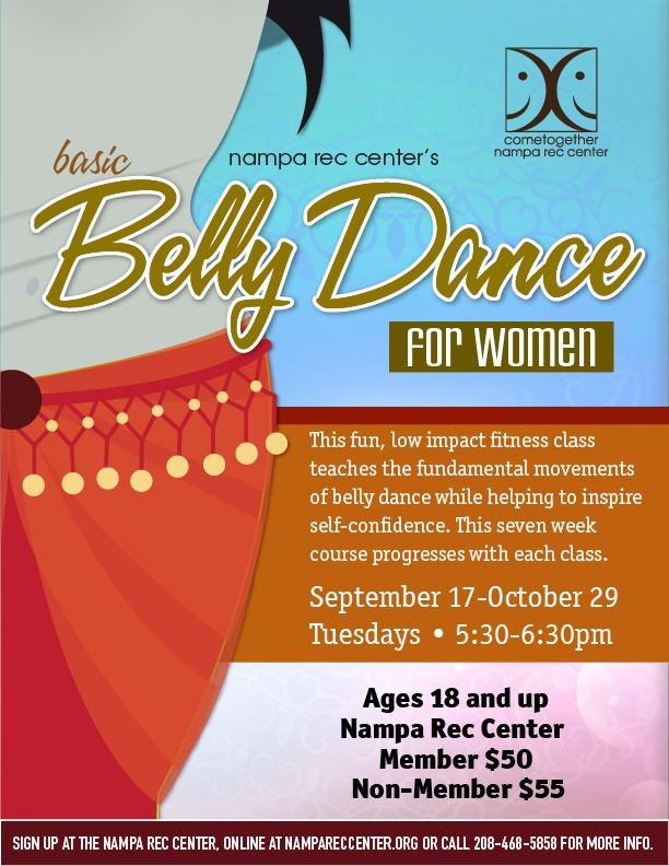 Belly Dance for Women Sept 2019_eflyer