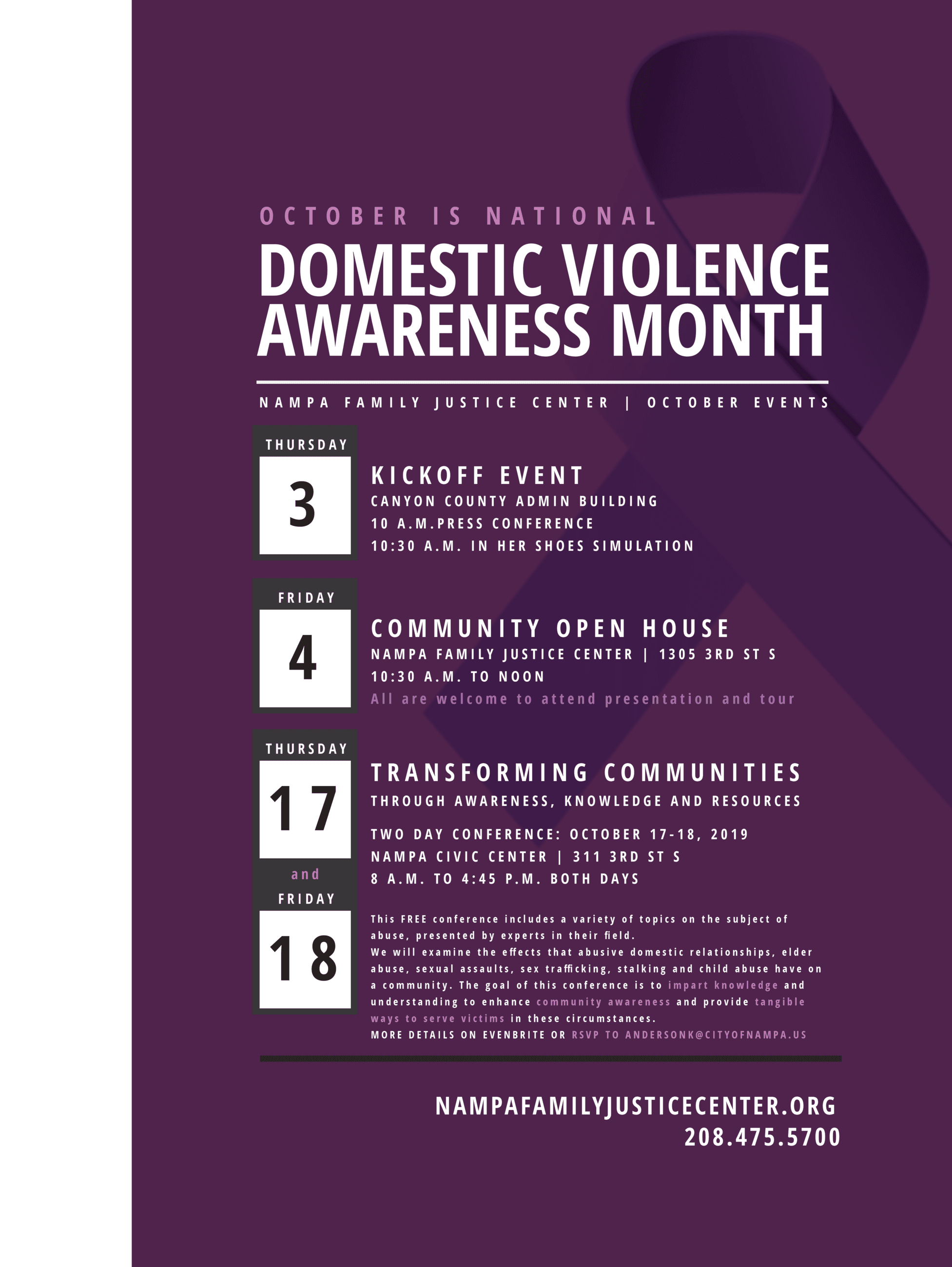 NFJC Domestic Violence Awareness Month 2019 TABLOID