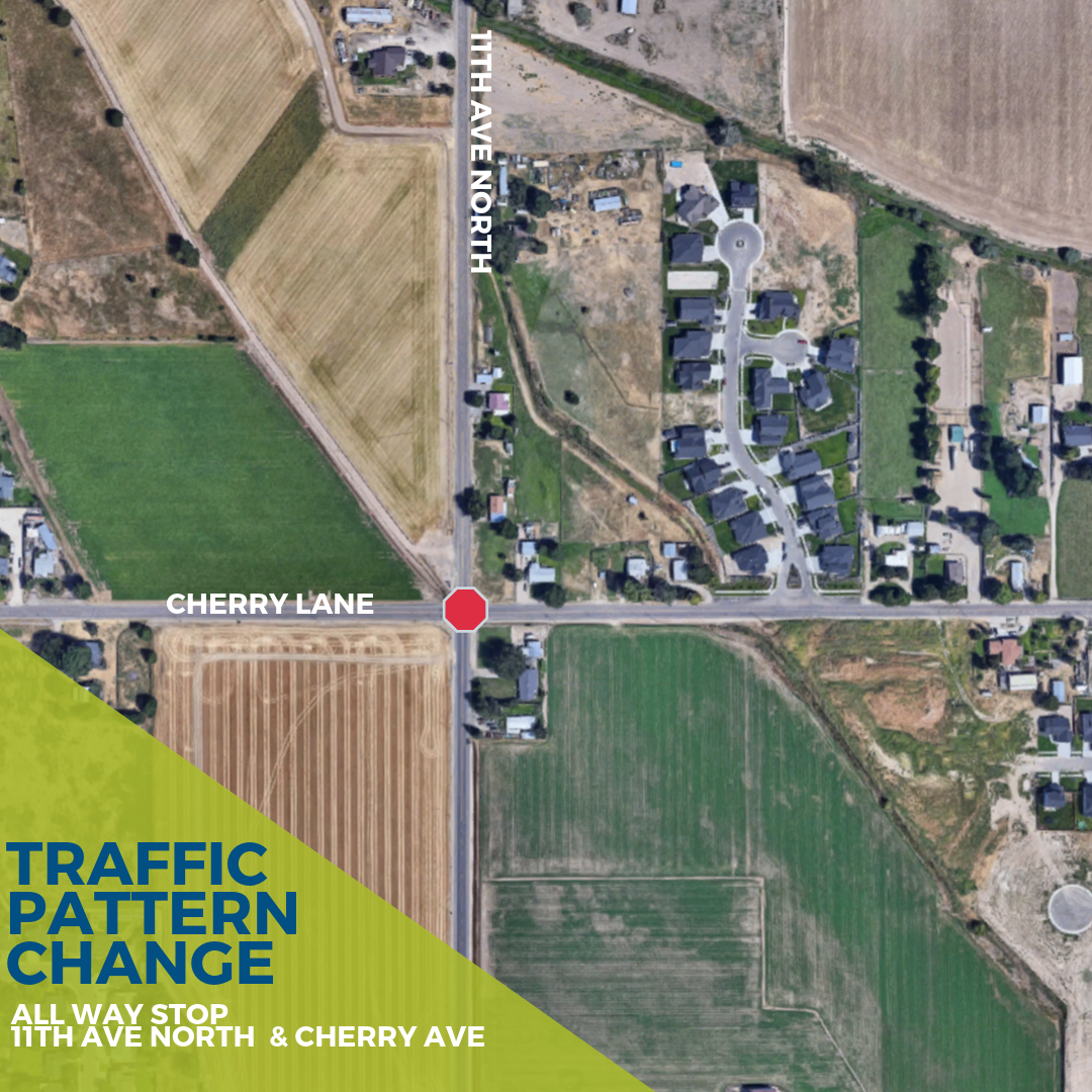 Traffic Pattern Change  11th ave cherry