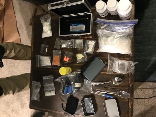 recovered narcotics
