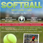 Summer League Softball 2020_eflyer