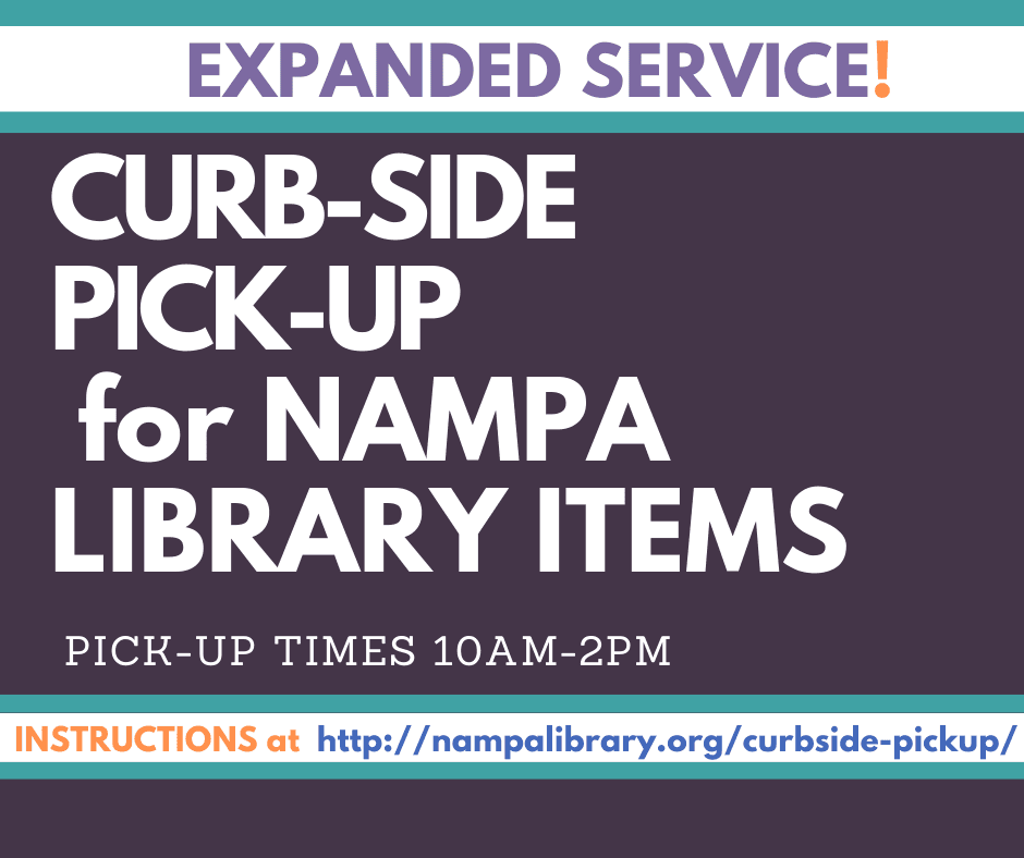 Nampa Library Curbside Pickup