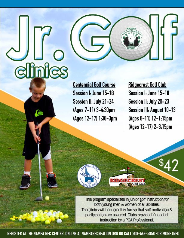 Junior Golf Clinic 2020_eflyer