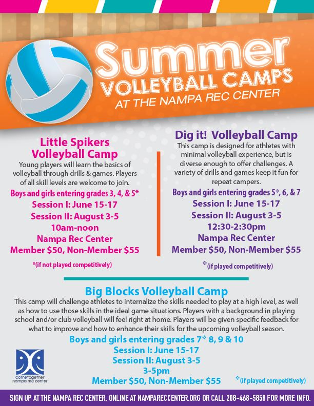 Summer Volleyball Camps 2020_eflyer