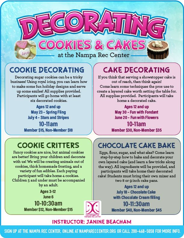 Decorating Cookies and Cakes Summer 2020_eflyer