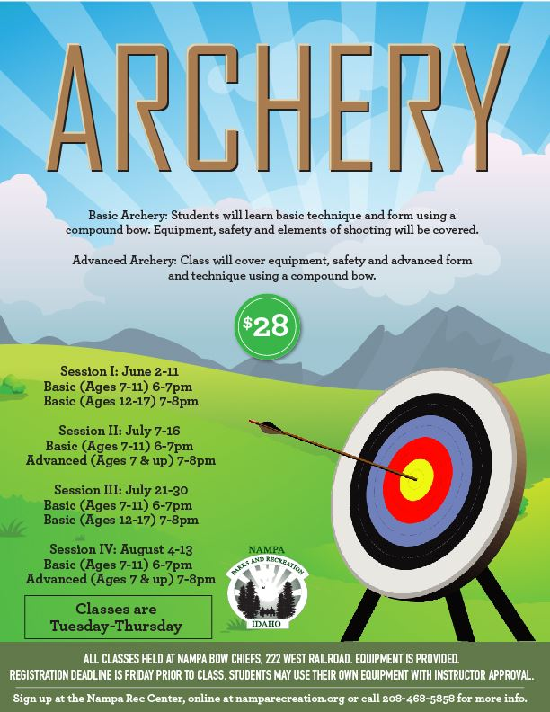 Archery - Summer 2020_eflyer