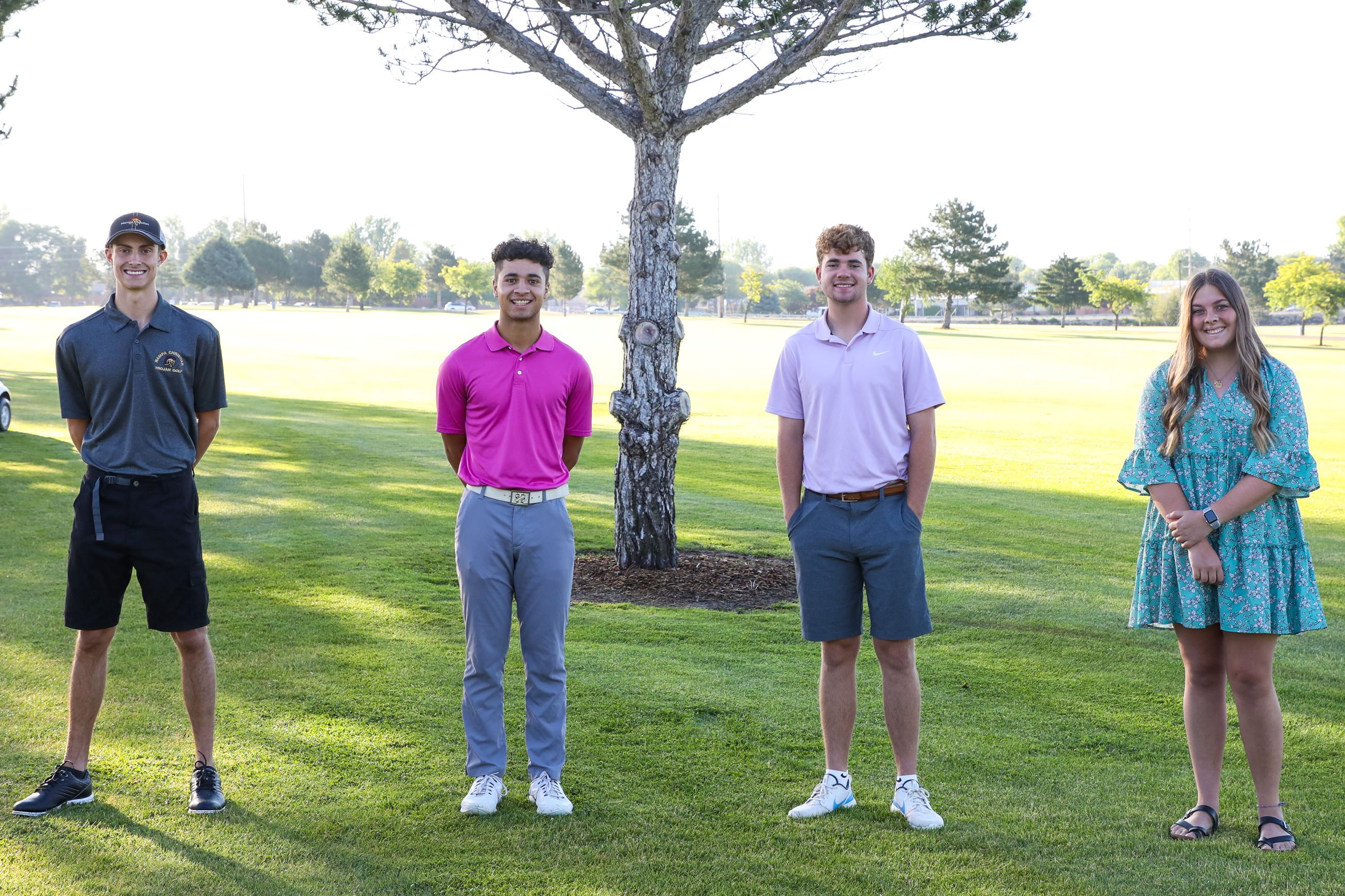Golf Scholarship Recipients 2020