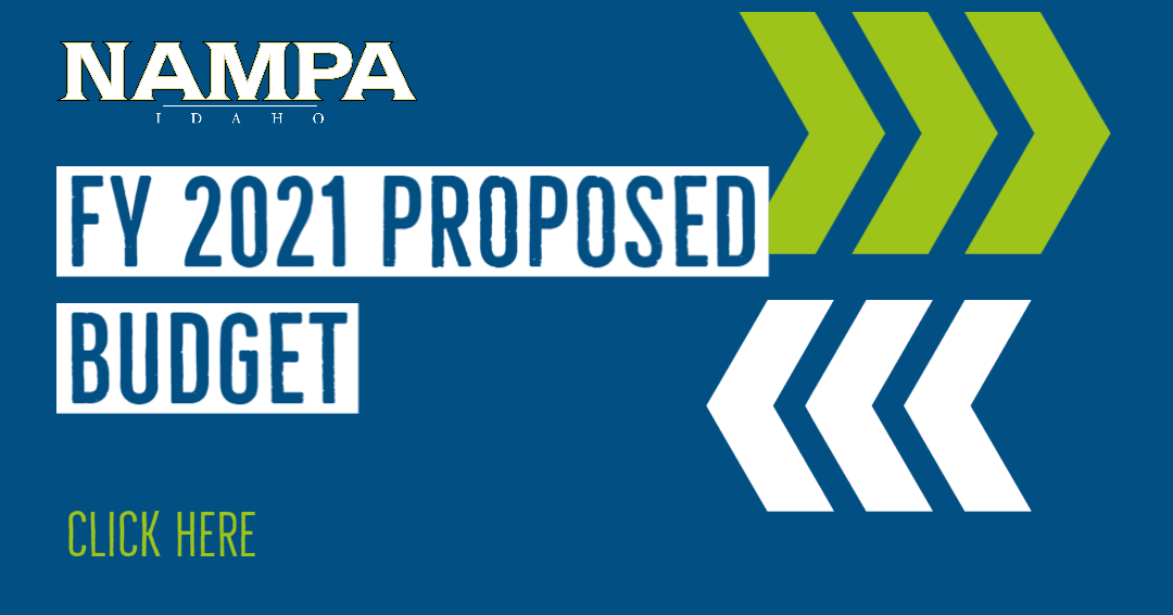 Link to view information on the FY 2021 budget for the City of Nampa