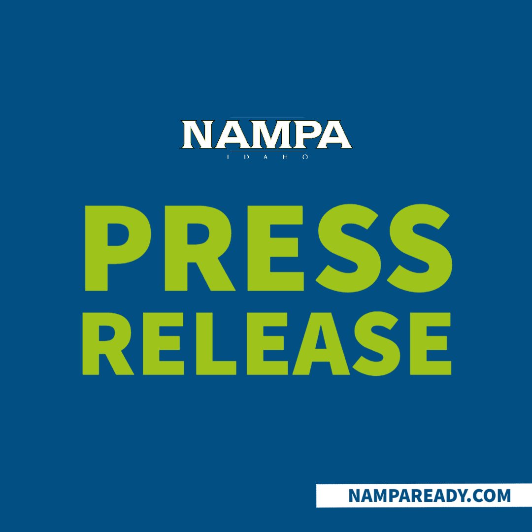 City of Nampa Press Release graphic