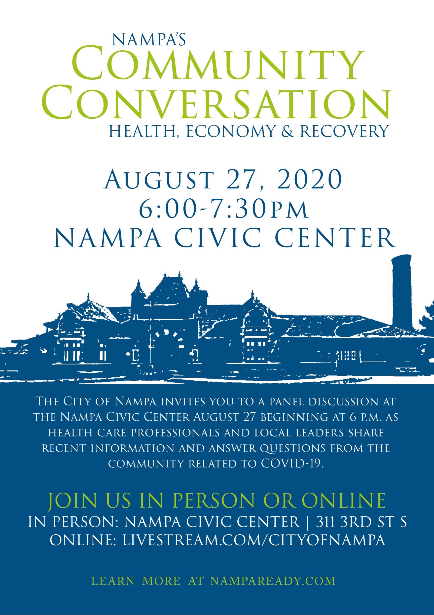 Nampas Community Conversation Aug 27