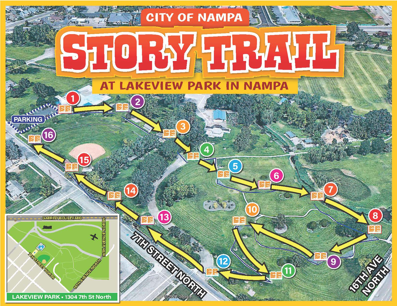 Story Trail MAP