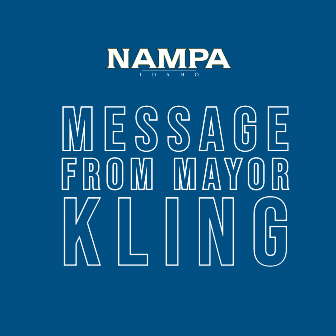 Message from Mayor Kling