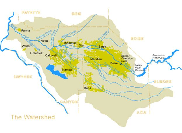 Lower boise watershed