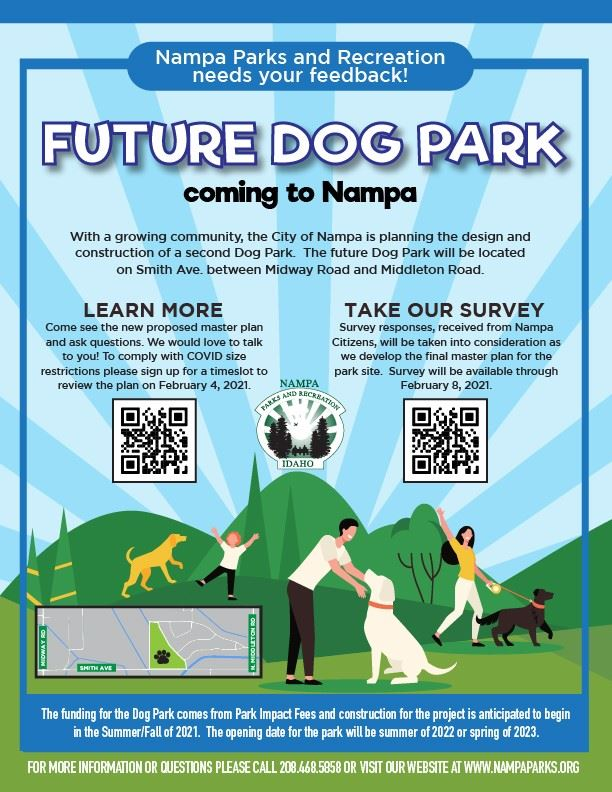 Nampas New Dog Park