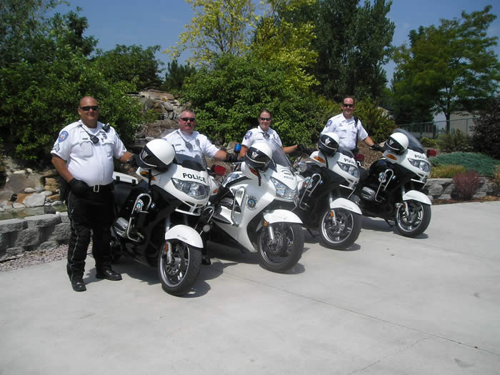 Photo of Nampa Police Motor Officers