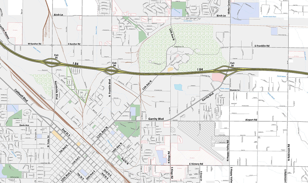 Map Downloads | Nampa, ID - Official Website