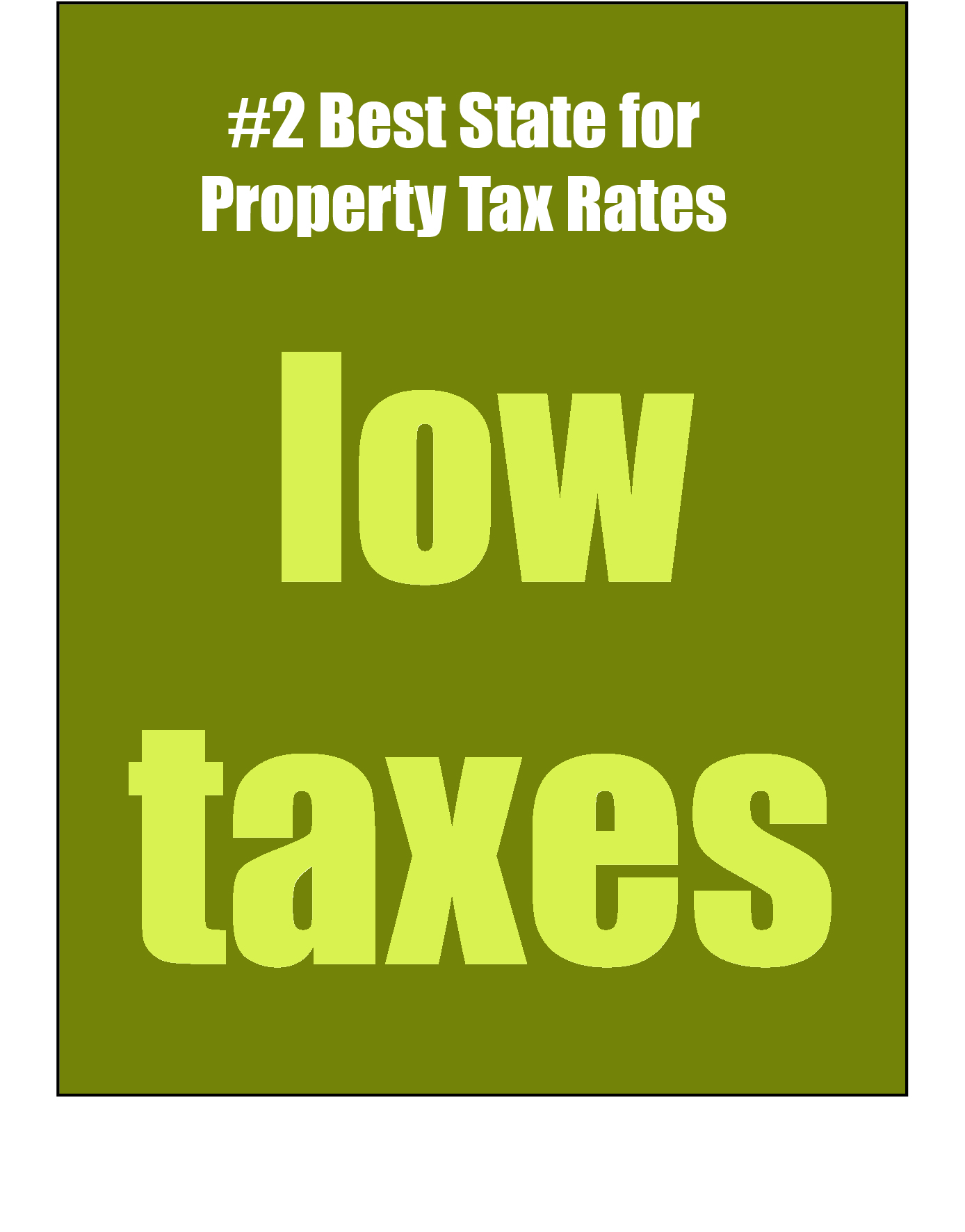 low taxes
