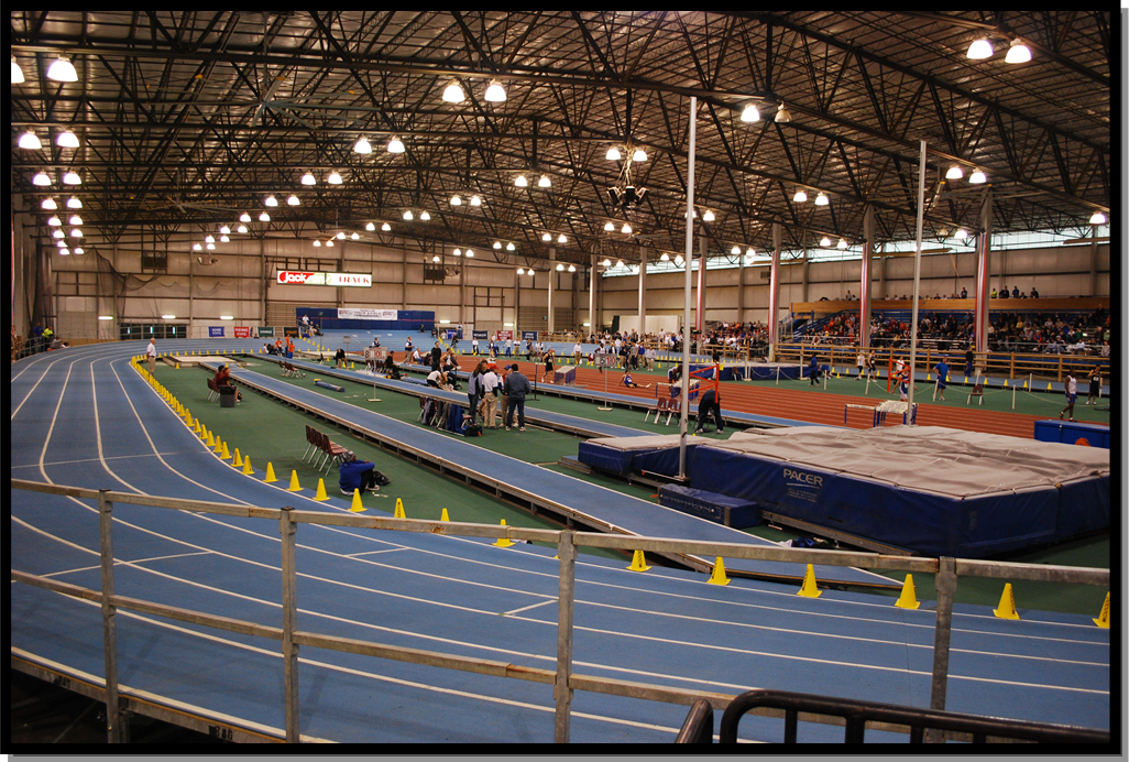 indoor racetrack