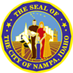 The Seal of The City of Nampa, Idaho