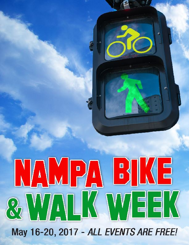 Bike and Walk Week Poster