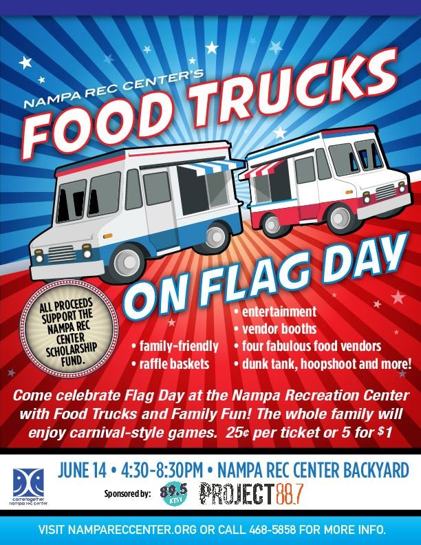Food Trucks on Flag Day