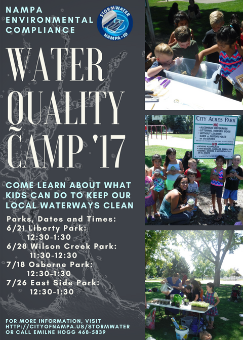 Water Quality Camp