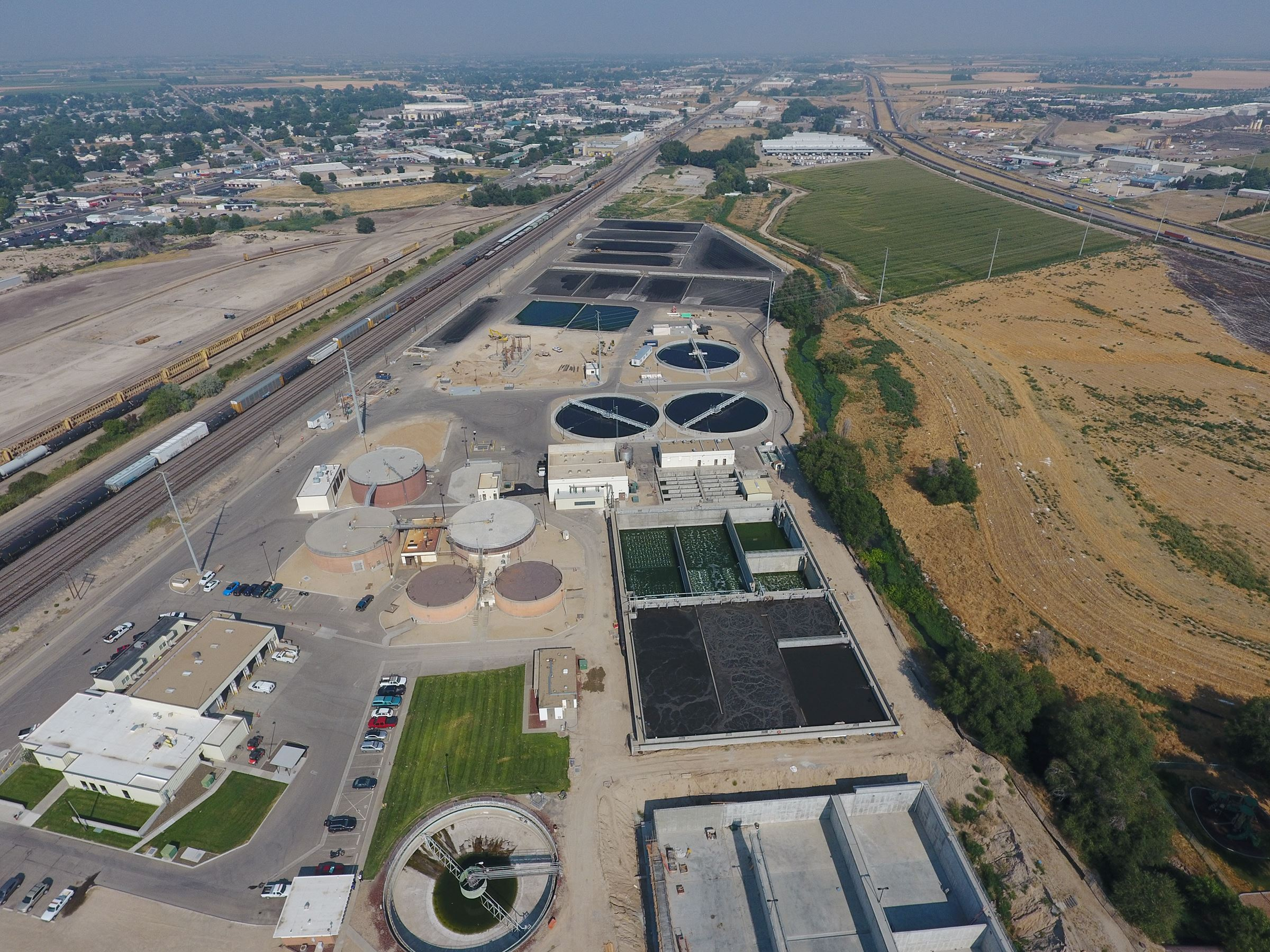 Wastewater Treatment Plant Overview