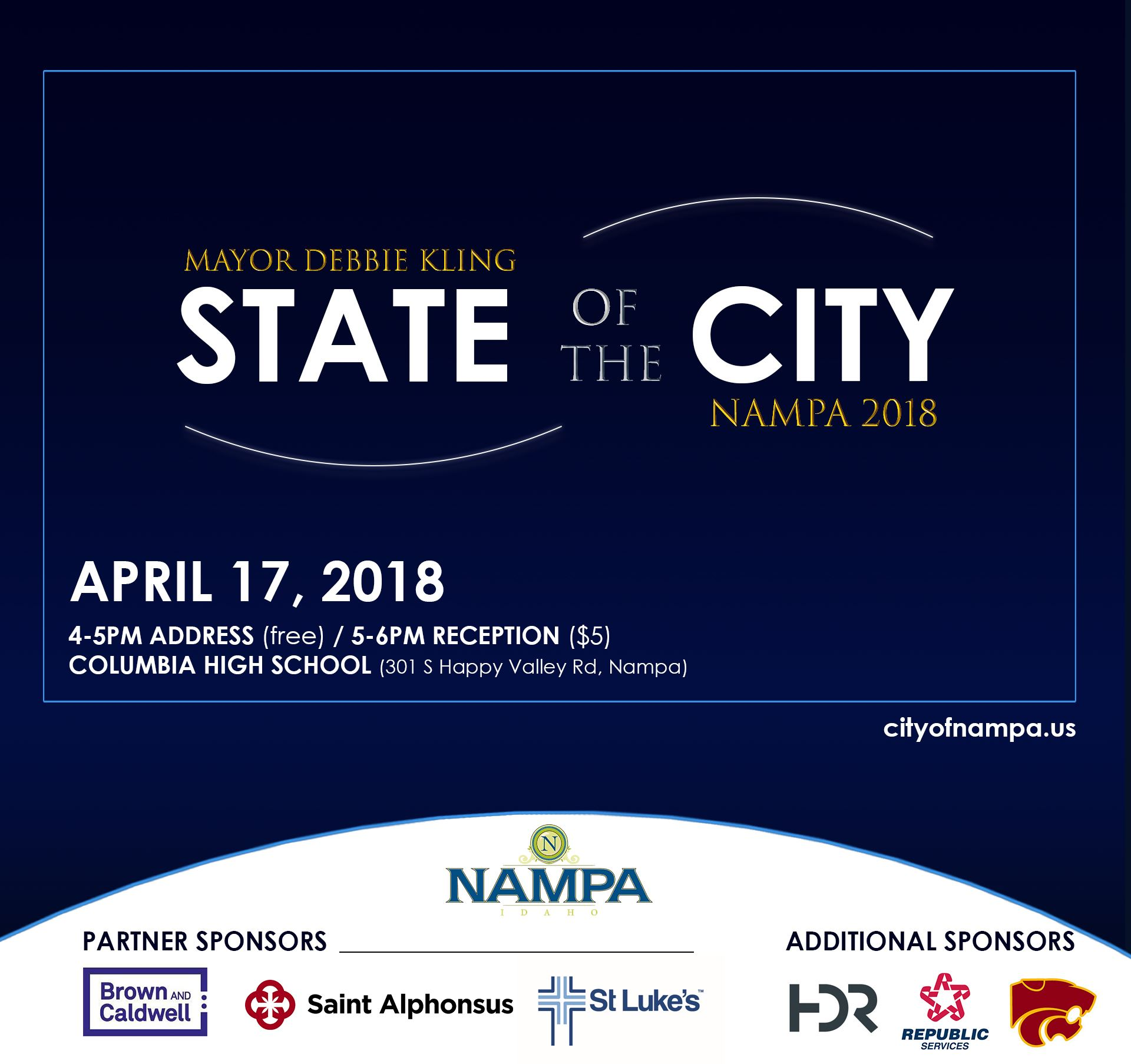 Nampa&#39s Mayor Debbie Kling announces 2018 State of the City