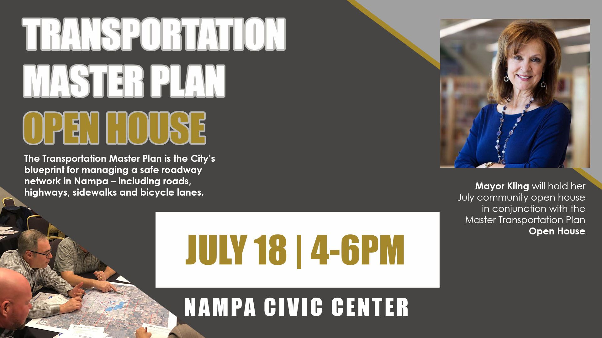 Master Transp Plan Mayor Open House 0718182