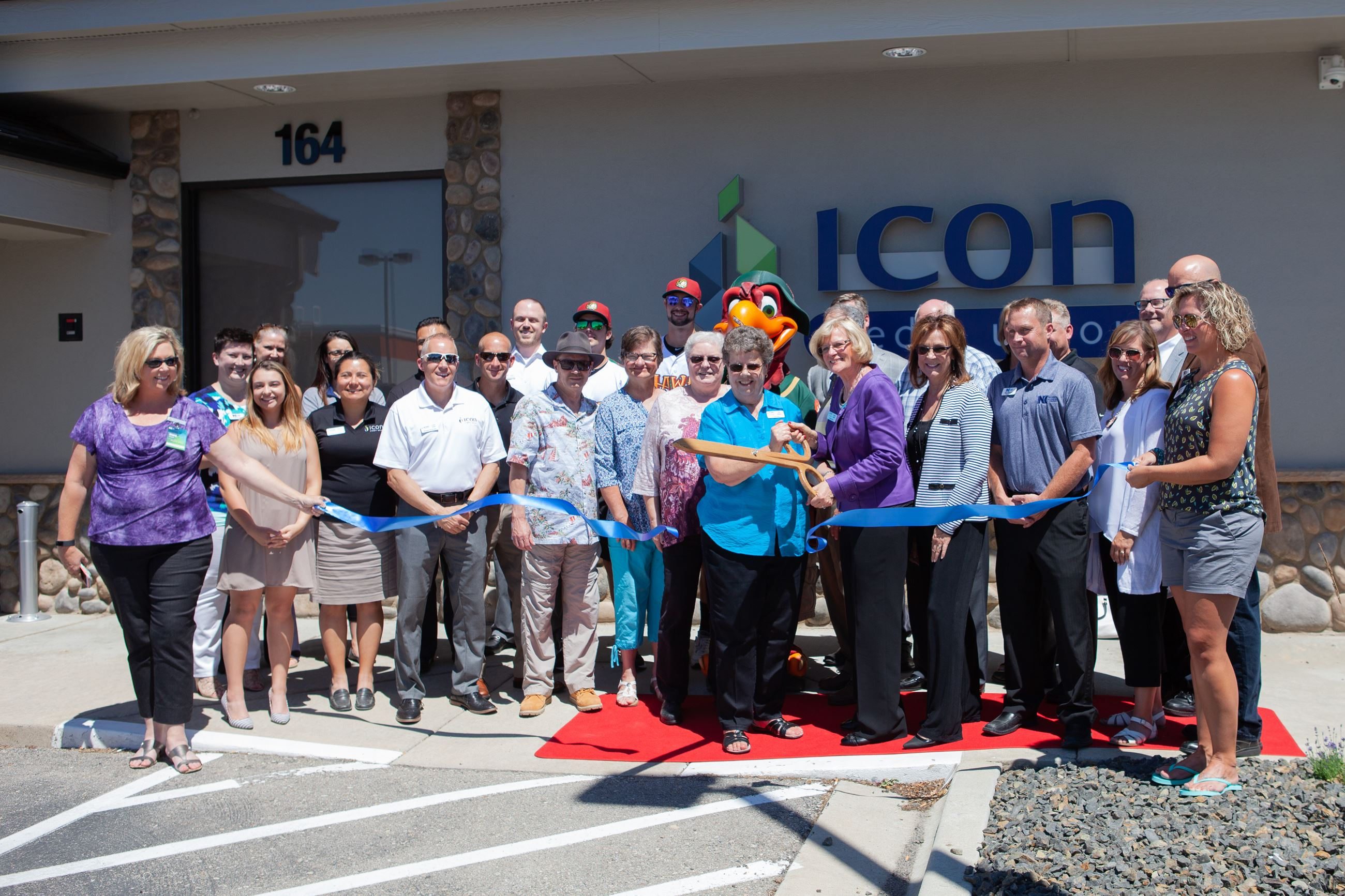Business Ribbon Cutting ICON Nampa 2018
