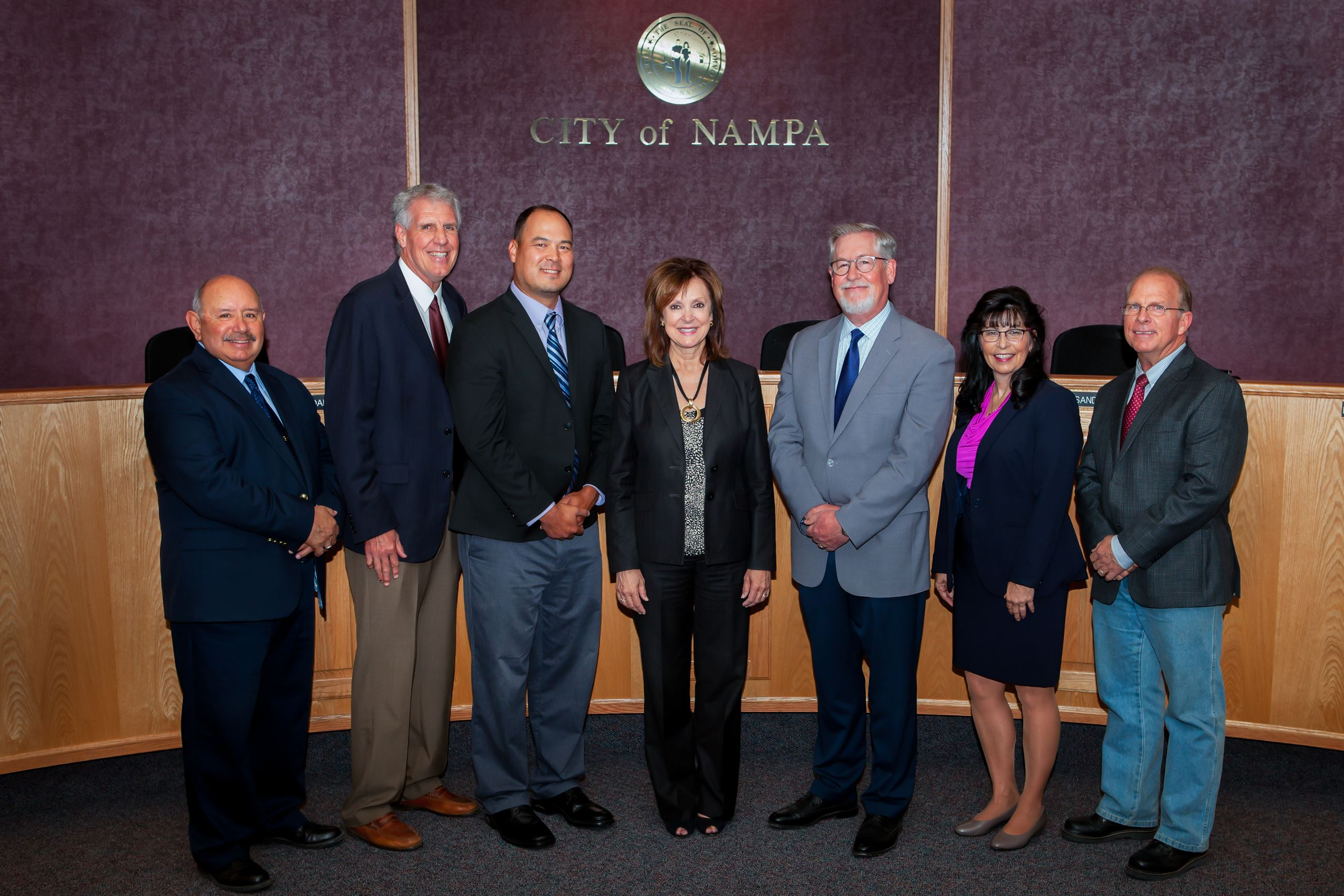 Nampa City Council 2018