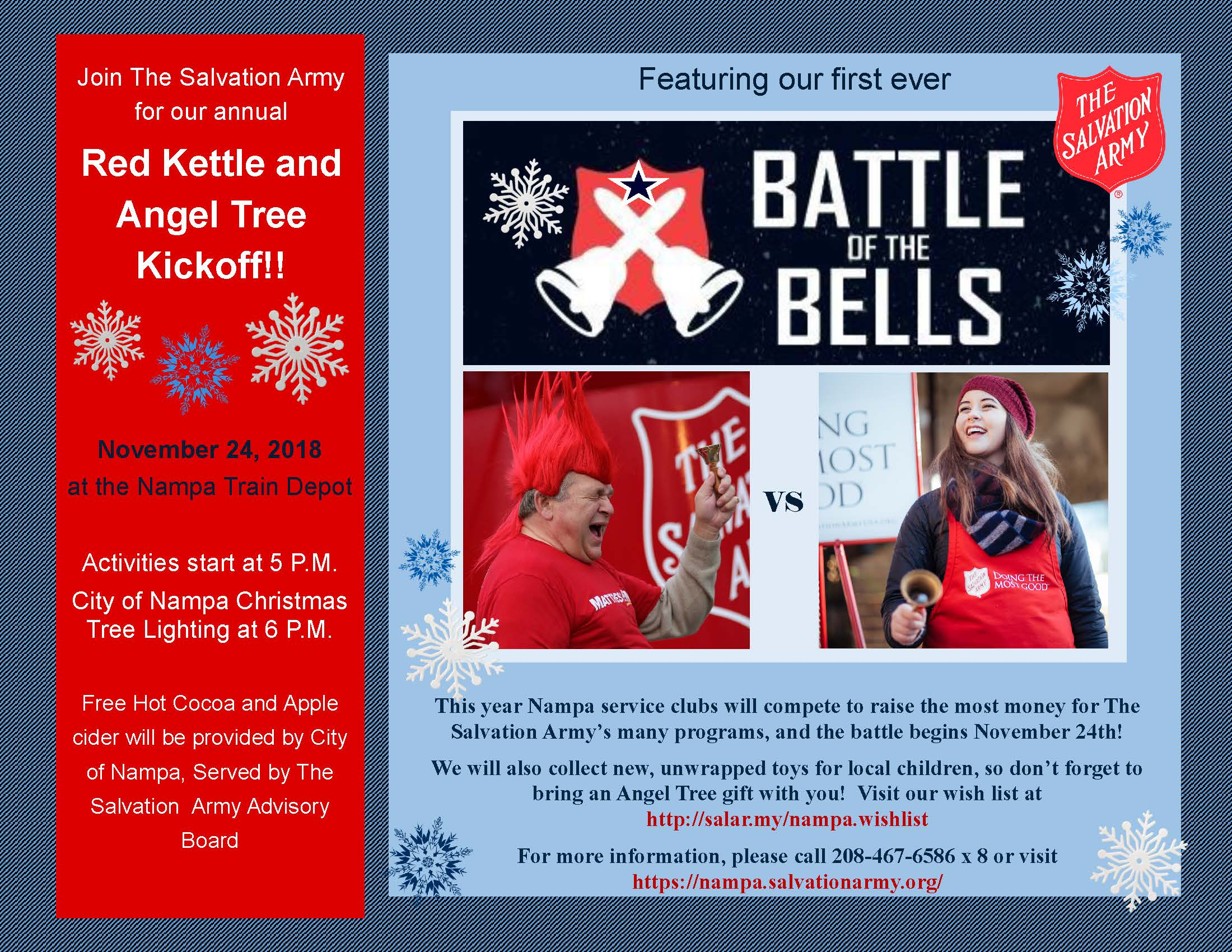 Red Kettle Kickoff 2018 Salvation Army