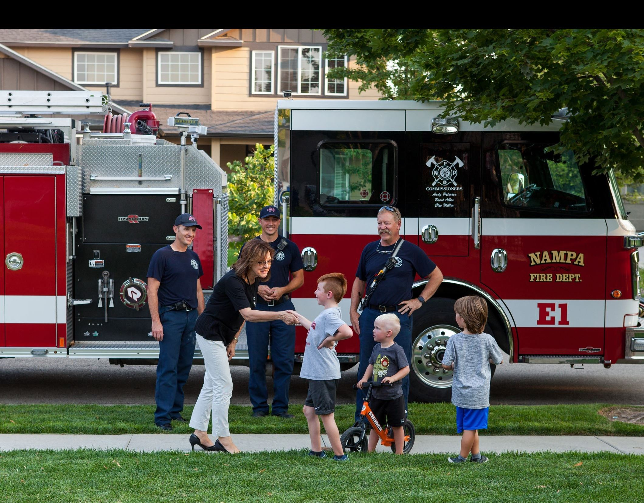 Mayor Kling National Night Out 2018