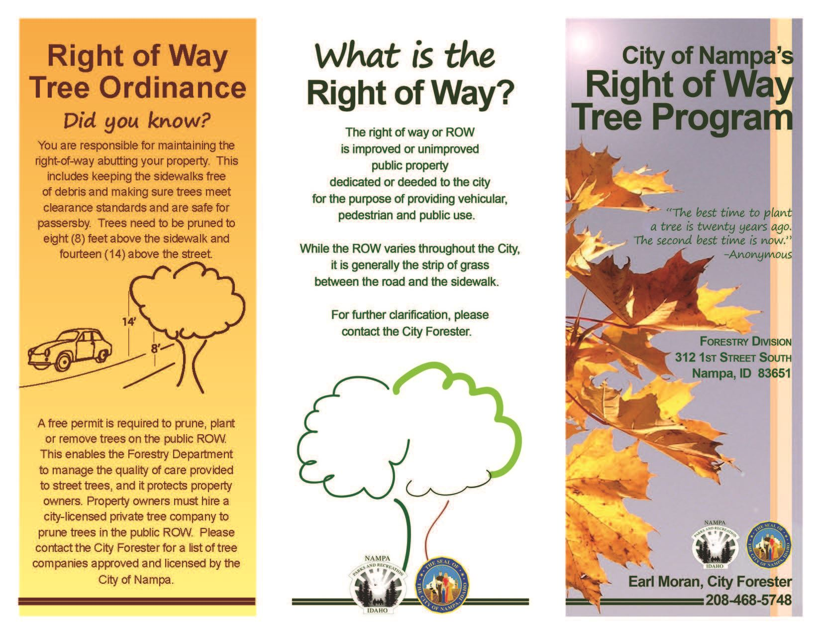 City of Nampa Right of Way Tree Program Trifold 2019_Page_1