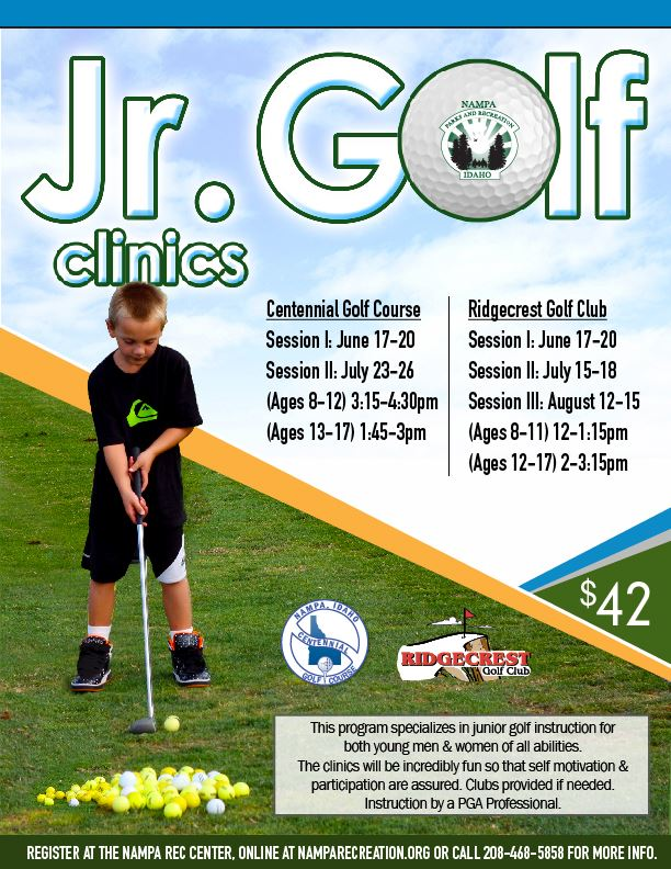Junior Golf Clinic 2019_eflyer