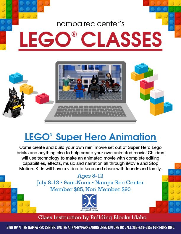 LEGO Super Hero Animation 2019_eflyer