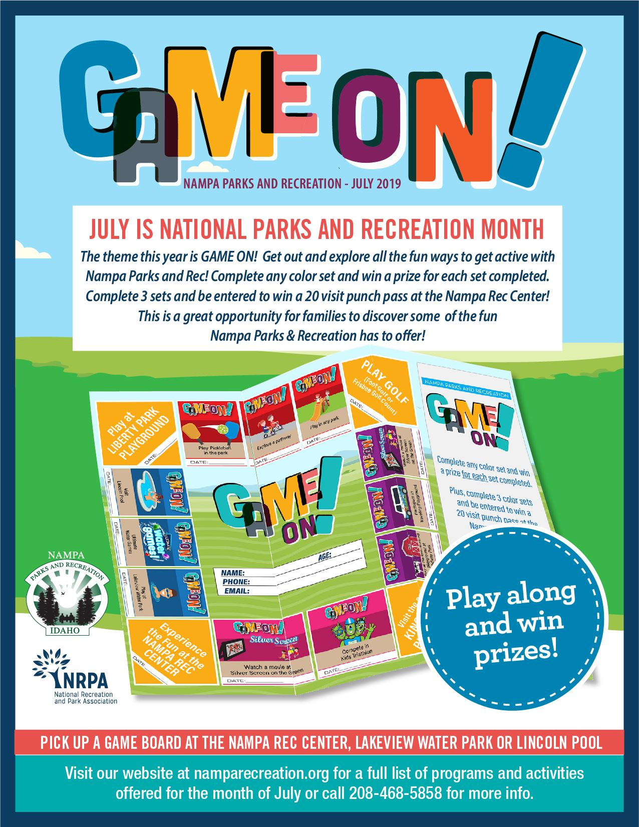 06 26 2019 NRPA July 2019 GAME ONeflyer