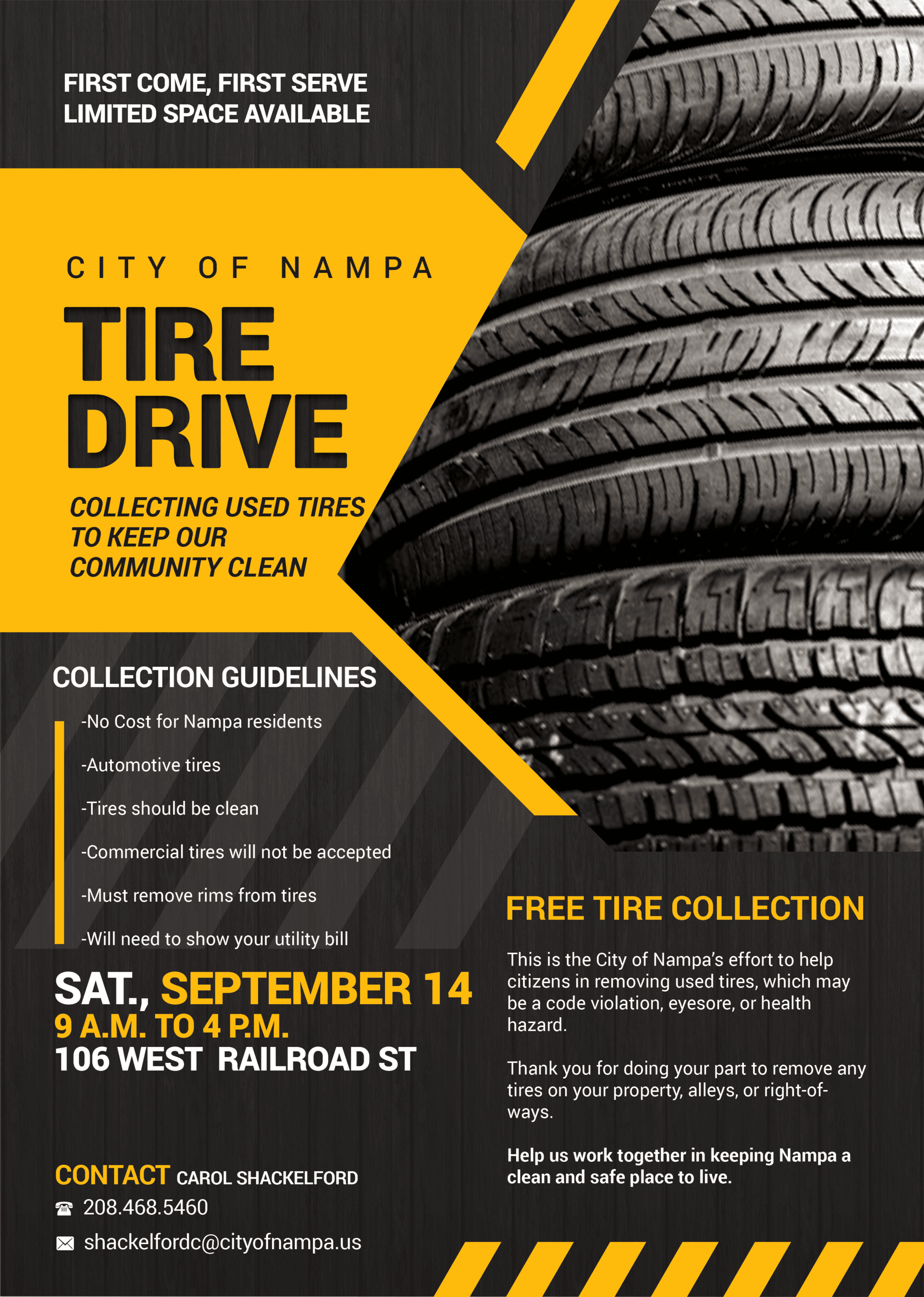 2019 Tire Drive City of Nampa