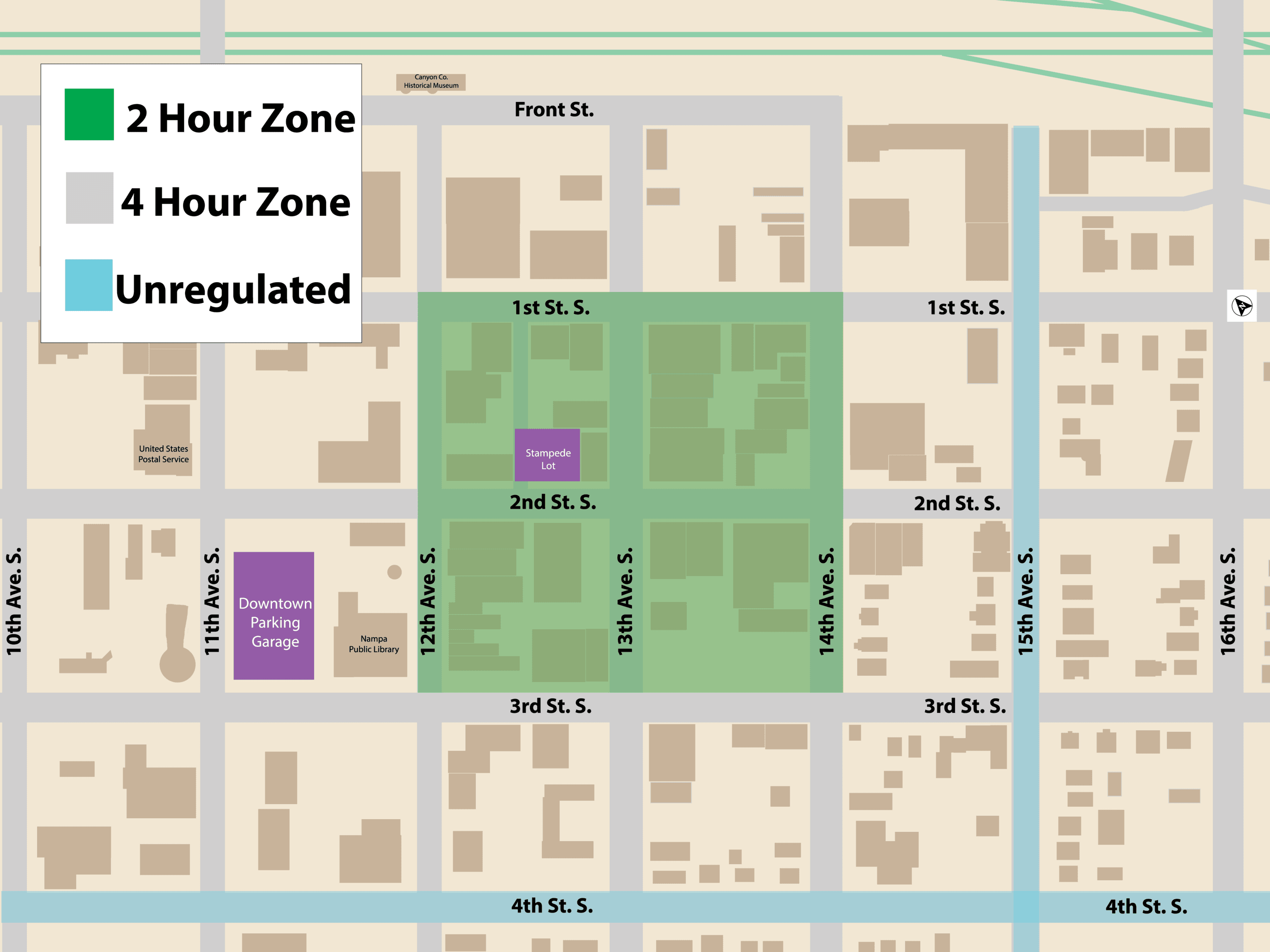 04 12 2019 Downtown Nampa parking zones