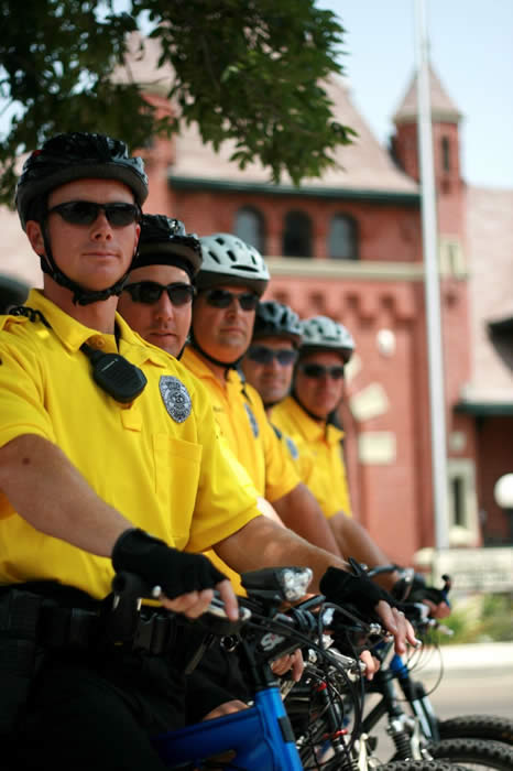 Photo of Police Officers on Bicycles
