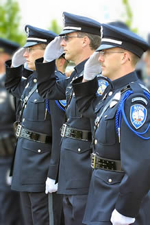 Photo of Police Honor Guard